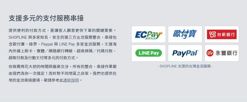 shopline金流服務
